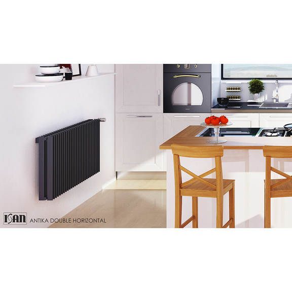 ISAN Antika Double Horizontal radiátor s vysokým výkonom - S02