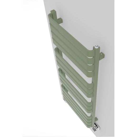 TERMA Warp T dizajnový radiátor farebné prevedenia RAL6021