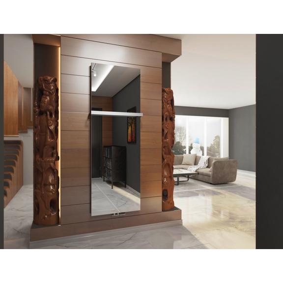 TERMA Case Slim dizajnový vertikálny radiátor - Zrkadlo interiér