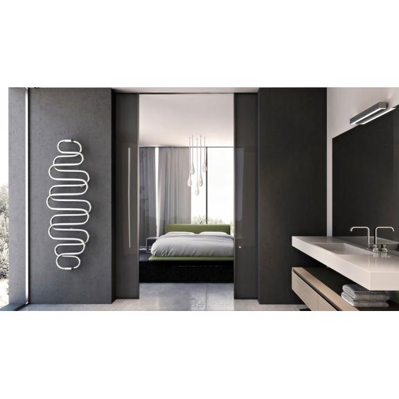 TERMA Perła E dizajnový radiátor v modernom interiéri