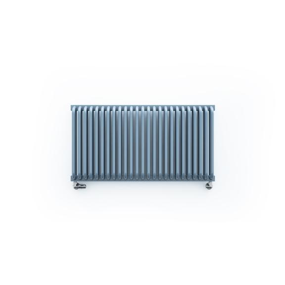 TERMA Delfin dizajnový radiátor pod okno 545x1050 RAL 5014 horizontálny