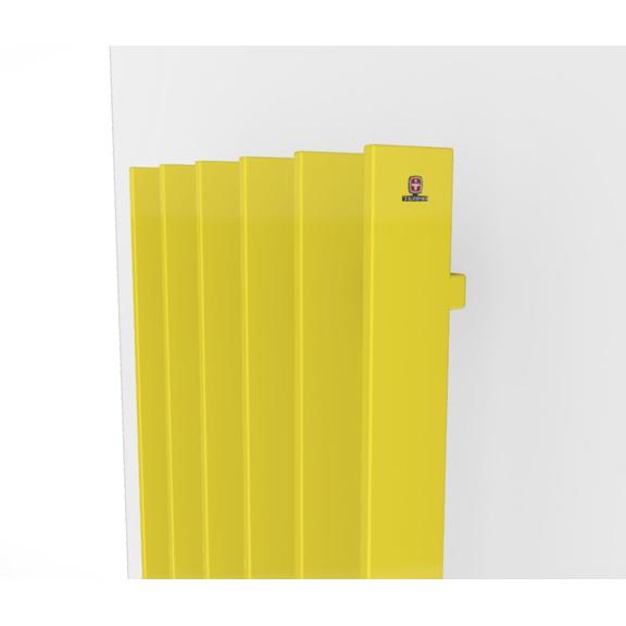 TERMA Cyklon V dizajnový radiátor -  farebné prevedenia RAL1016