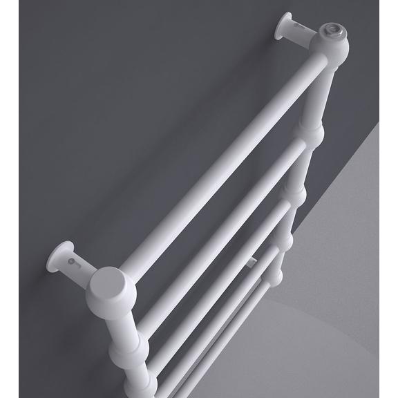 TERMA Retro dizajnový radiátor 800x504 RAL9016 - detail
