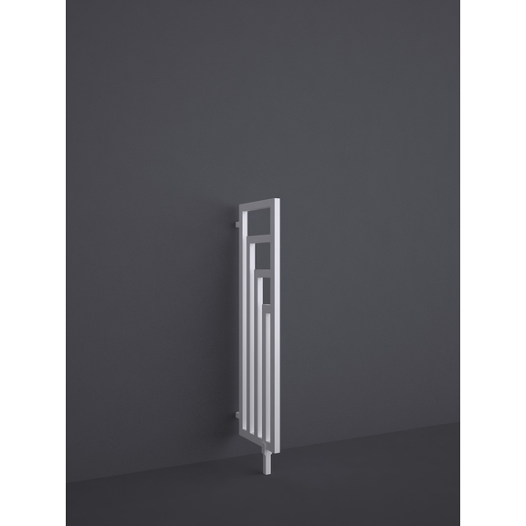 TERMA Angus DW elektrický dizajnový radiátor RAL9016 1100x360