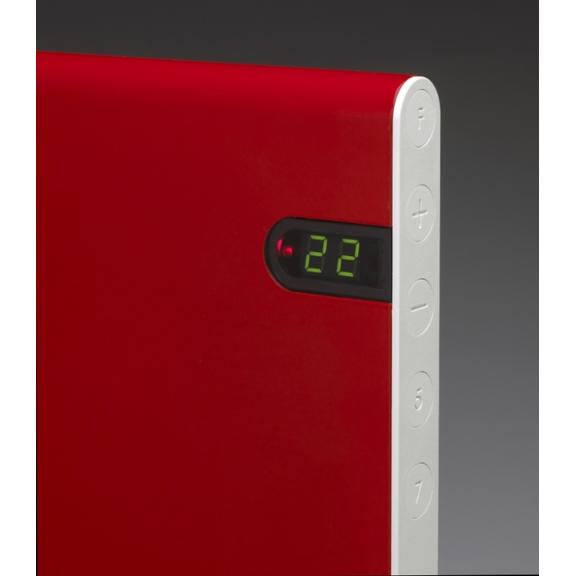 Elektrický konvektor ADAX NEO NP detail - červená