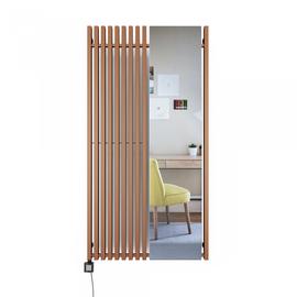 TERMA Triga M E dizajnový radiátor so zrkadlom 1700x880 farba Cooper