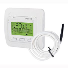 Termostat pre podlahové kúrenie so snímačom podlahy PT712-EI