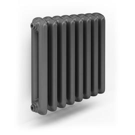TERMA Plain retro radiátor farba Flat Black