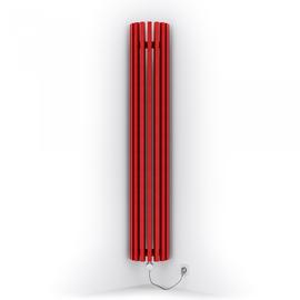 TERMA Triga ANC E dizajnový radiátor 1700x280 farba Metallic red