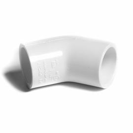 """NIBCO koleno 45° 3/4"""" PVC-U PN15"""