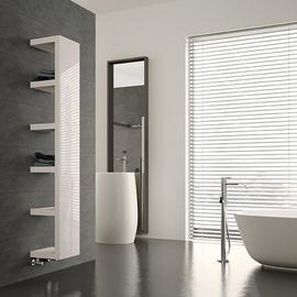 IRSAP Quadraqua dizajnový radiátor 1828x300 L farba Bianco Perla