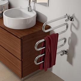 IRSAP Alatherm chrómový kúpeľňový radiátor 525x550
