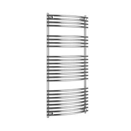 ISAN Ikaria Radius kúpeľňový radiátor chróm