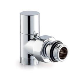 Chrómová termosada ventilov Tondera light - rohová