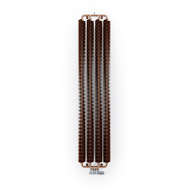 TERMA Ribbon V retro radiátor 1920x390 farba Copper- Meď