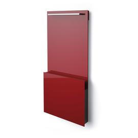 ISAN Joy Bath sklenený radiátor 1495x700