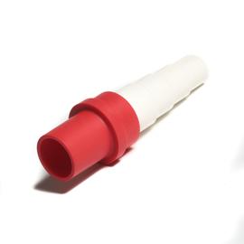Spojka redukovaná z 18 pre kondenzačné hadice 14-20 - červená