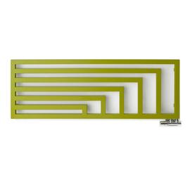 TERMA Angus H dizajnový radiátor farba Soft Green Apple