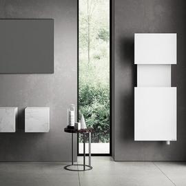 IRSAP M'ama kúpeľňový radiátor 1400x550 farba Bianco Opaco