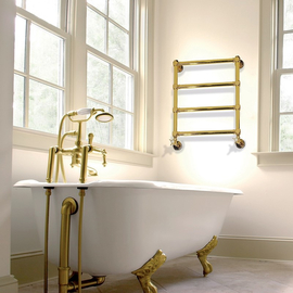 IRSAP Minuette kúpeľňový radiátor 682x570 povrch Gold - Zlato