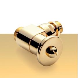 Zlatá manuálna sada ventilov Elite - rohová