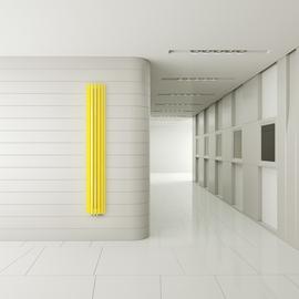 TERMA Triga AN dizajnový radiátor na stenu - v priestore