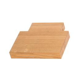 TERMA Drevená polička na uteráky Easy 20 cm - dub