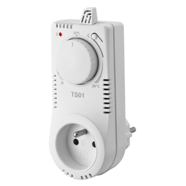Analógová elektronická termo zásuvka TS01