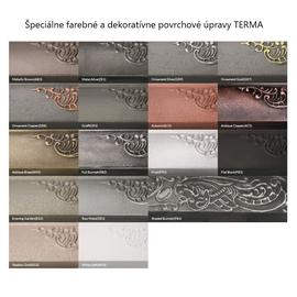 Farby Terma - liainové radiátory - špeciálne farebné prevedenia- paleta