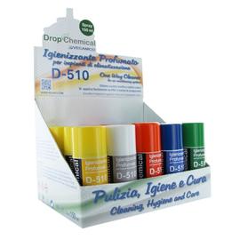 Vecamco D-510 parfumovaný dezinfekčný sprej do klimatizácie
