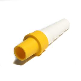 Spojka redukovaná pre kondenzačné hadice - žltá