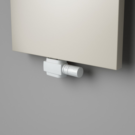 Biely univerzálny stredový termostatický ventil