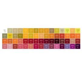 Farby Terma - farebné prevedenia RAL - odtiene1