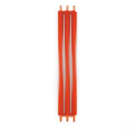 TERMA Ribbon V E elektrický dizajnový radiátor 1800x290 RAL2004